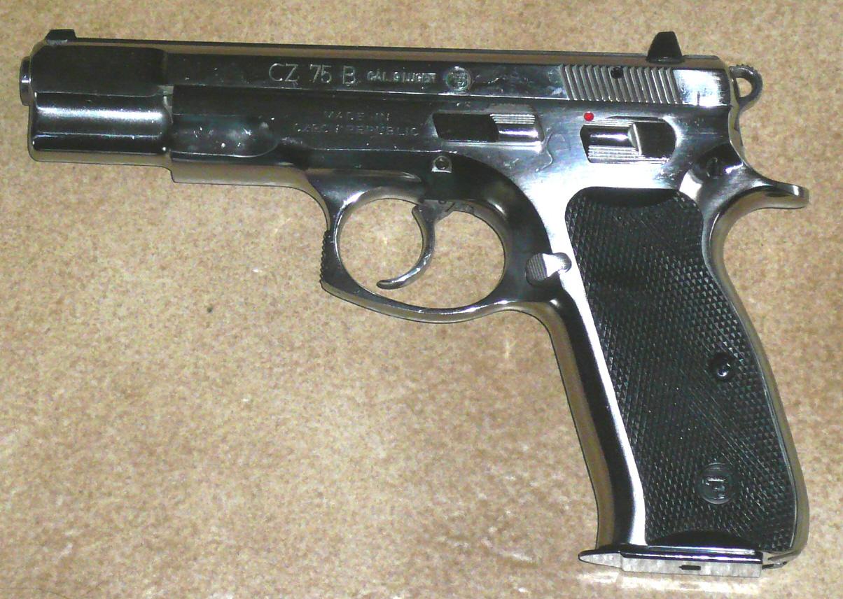 Pistole CZ 75 NEU