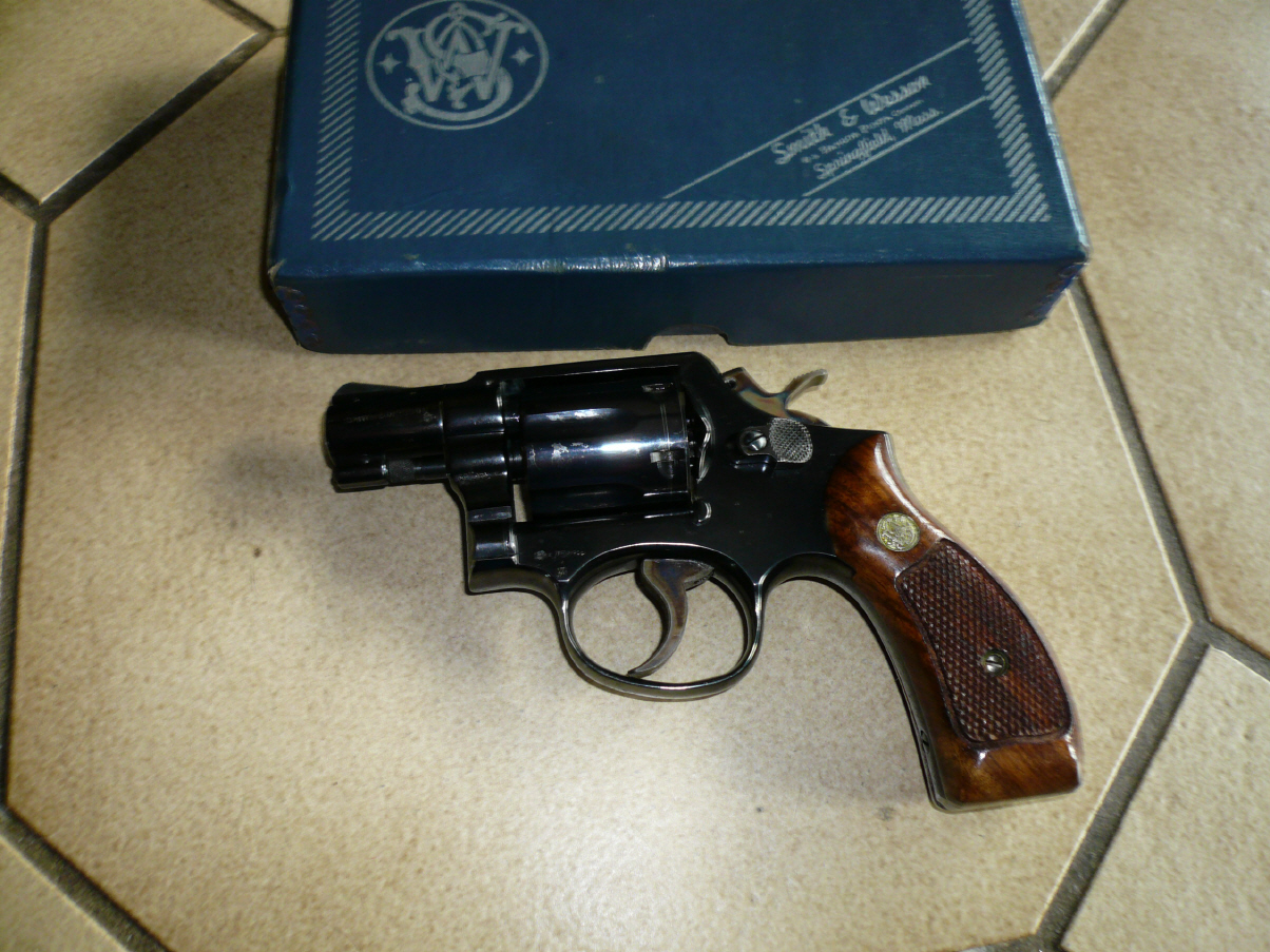 Smith & Wesson Modell 10-5, gebraucht